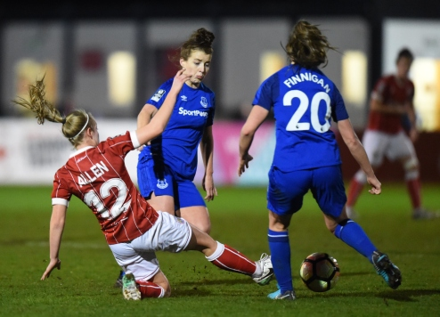 Bristol City Women v Everton Ladies 060118