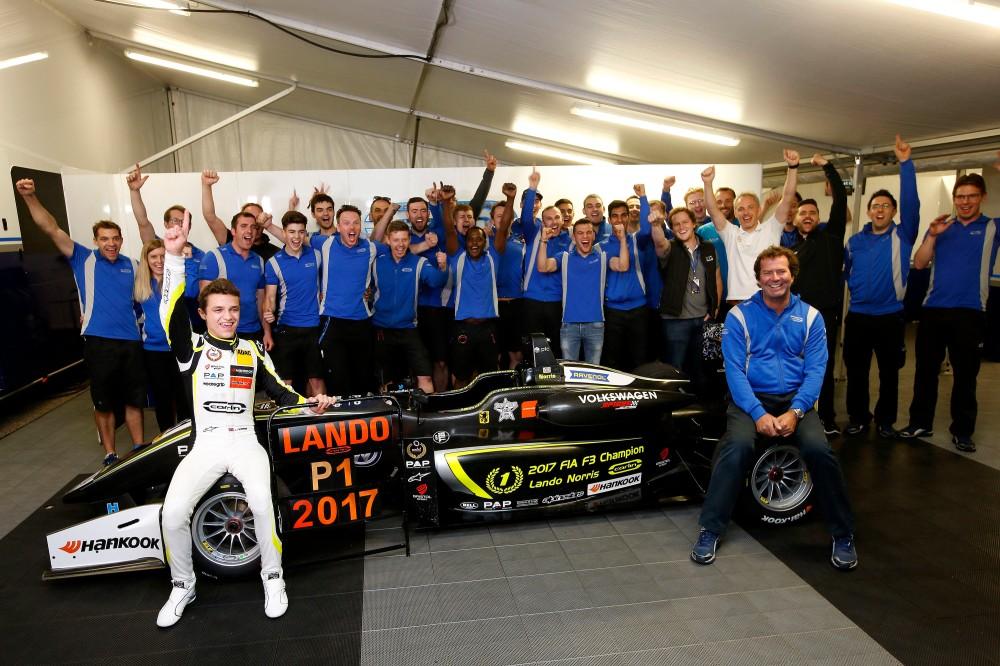 FIA Formula 3 European Championship 2017, round 10, Hockenheimring (DEU)
