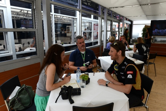 Grosjean-interview